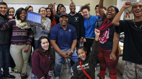 Early Holiday Excitement For 14 Chicago Public High School Students