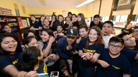 "Chicago's Fiske and Scammon Elementary Schools Top Scorers in ""Get Schooled, Get Connected"" Spring Challenge"