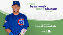 Willson Contreras, the Chicago Cubs and Xfinity Team Up to Help Chicagoans Experiencing Homelessness