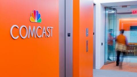 The Comcast logo