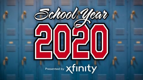 School year 2020 presented by Xfinity.