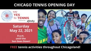 """USTA Chicago Celebrating Tennis with """"Opening Day"""""""