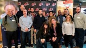 Comcast Business team at the Children's Hospital of Colorado Radiothon.