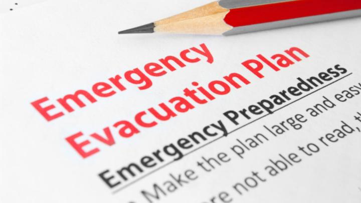 Emergency evacuation plan emergency preparedness guide.