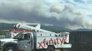 Comcast Provides Internet in Shelters for Kincade Fire Evacuees