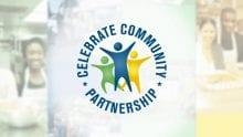 The Celebrate Community Partnership logo.