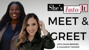 Meet and Greet invitation including digital influencers, Chauncey Woods and Shan Berries.