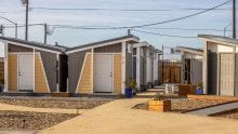 Mabury Bridge Housing Community which provides interim housing for homeless individuals and acts as a bridge between homelessness and permanent housing.