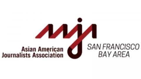 AAJA Storytelling project logo.