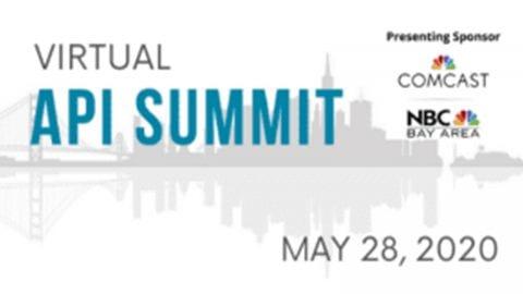 API Summit 2020 with the Comcast logo.