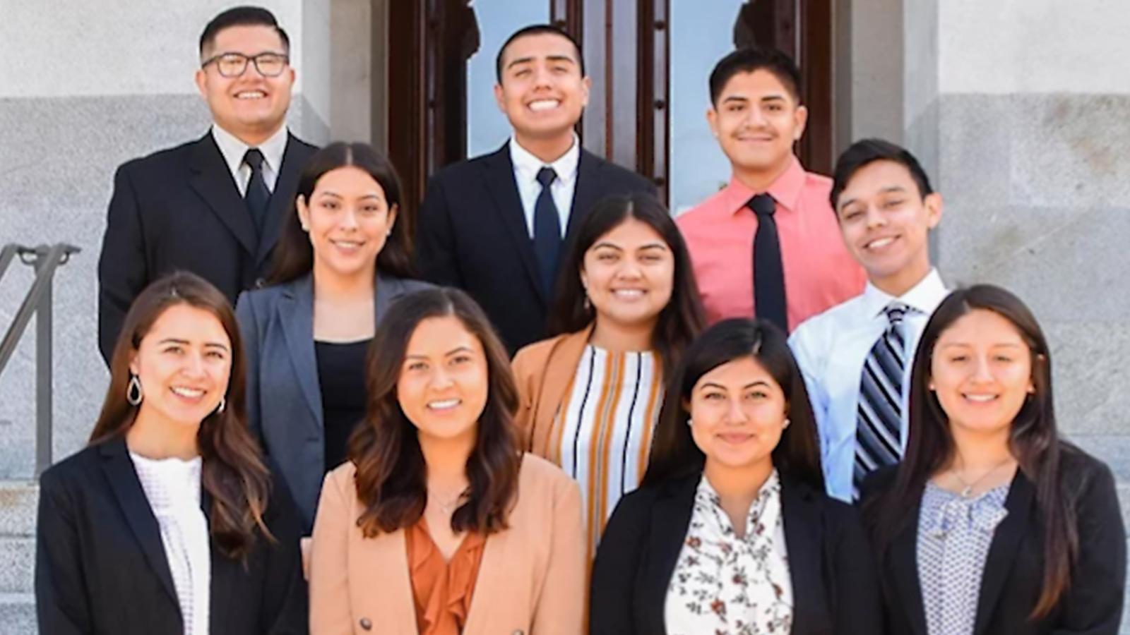Chicano Latino Youth Leadership Project winners