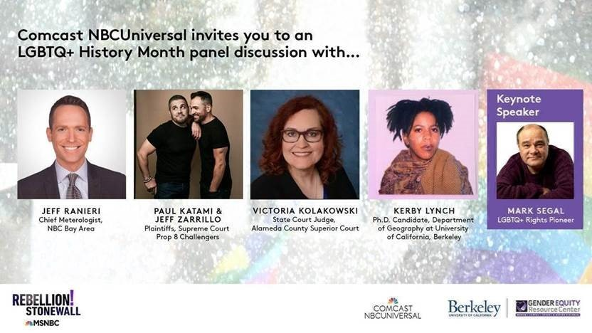 Comcast Celebrating LGBTQ+ History Month