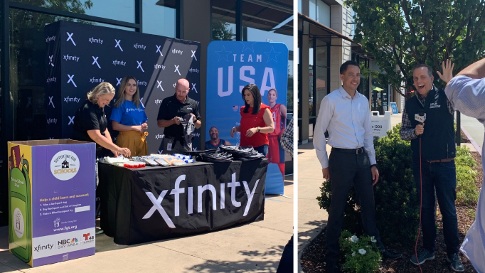 """Xfinity Proudly Supports """"The Backpack Comeback,"""" Providing Free School Supplies for Families in Need"""