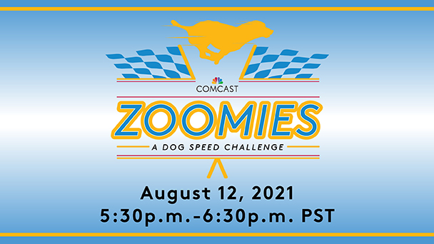 Tune in LIVE for the Comcast Zoomies: A Dog Speed Challenge Award Ceremony