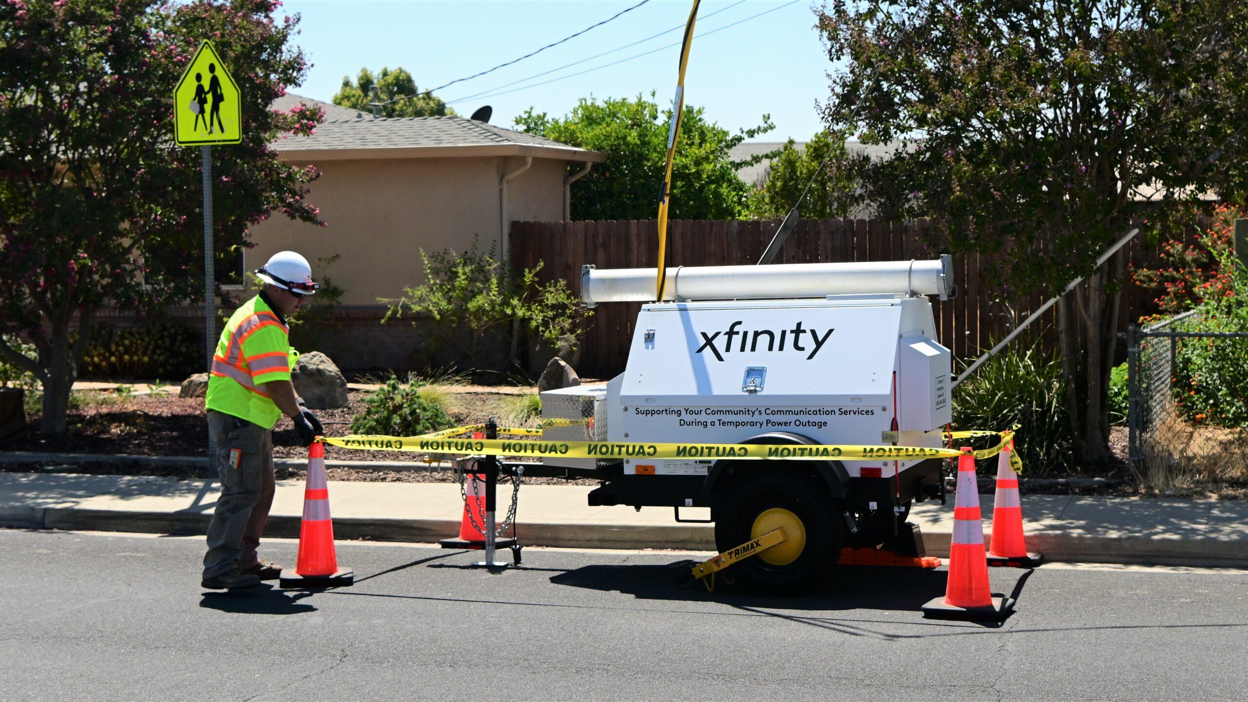 A partir de octubre, Comcast California implementará un nuevo plan para las Interrupciones del Suministro Eléctrico por Motivos de Seguridad Pública