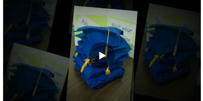 Click on the image above to be directed to a video of the graduation.