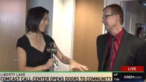 Comcast, State, Local Officials and New Employees Celebrate Grand Opening of Spokane-area Customer Support Center