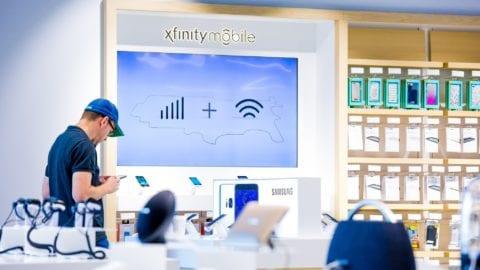 XFINITY Mobile begins retail rollout in 13 Washington XFINITY Stores