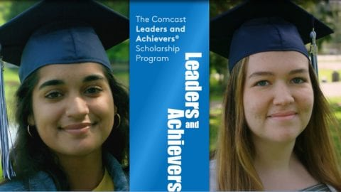 Comcast Leaders and Achievers Washington state scholarship winners 2019