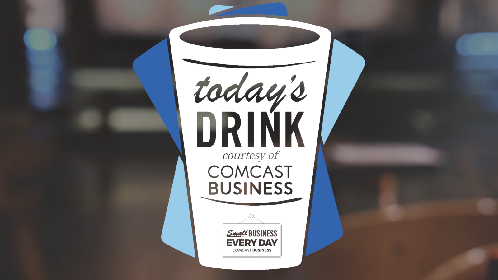 small business Saturday coffee giveaway with Gravity Coffee and Comcast Business in 2019