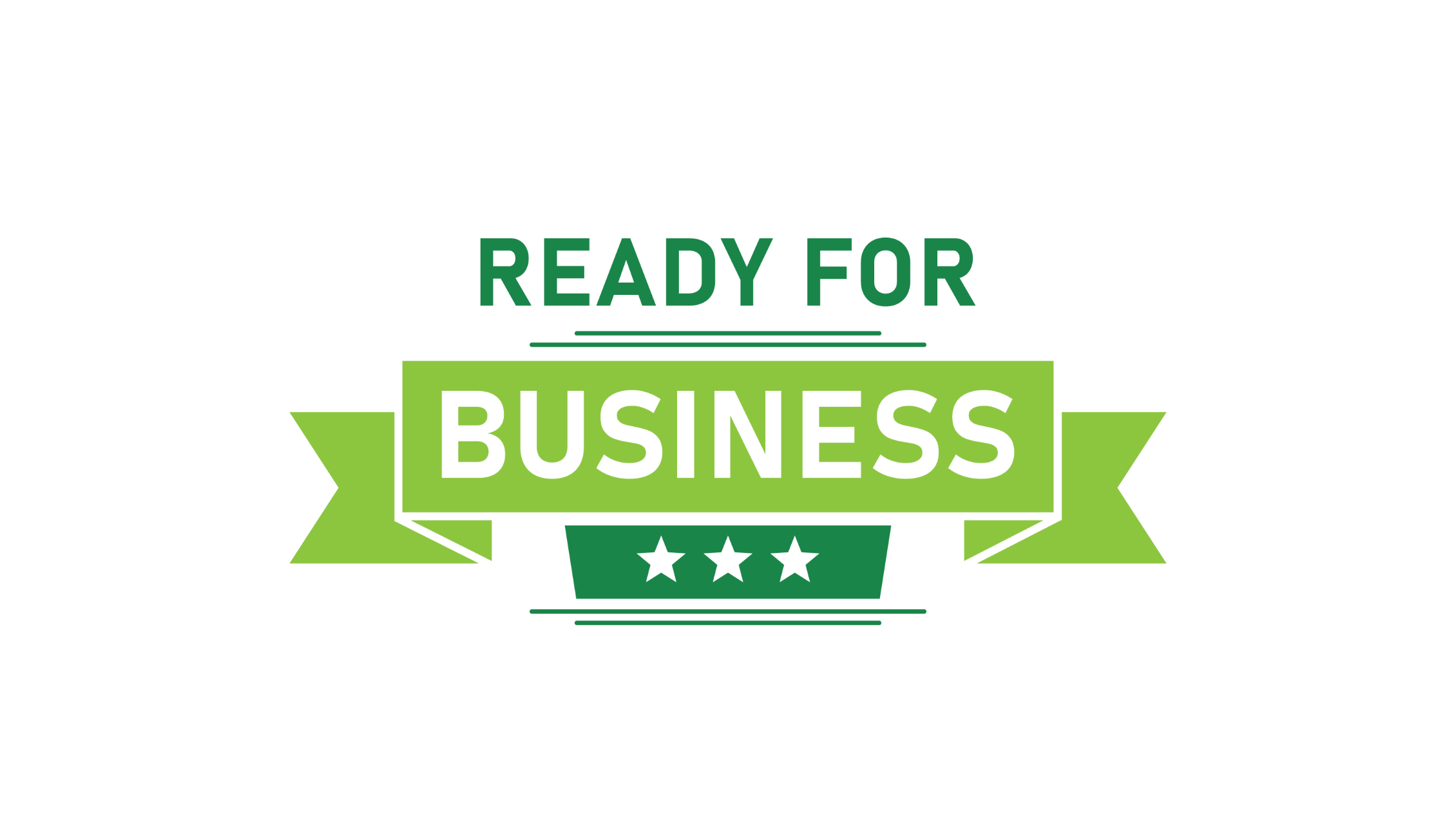 Ready for business logo