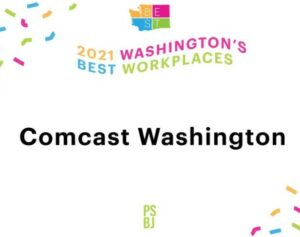 Comcast Named One of Washington's Best Places to Work by Puget Sound Business Journal