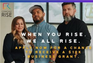 100 Small Businesses in King & Pierce Counties will Receive $10,000 From Comcast RISE