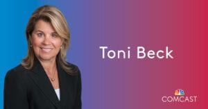 Toni Beck Named Vice President of External Affairs