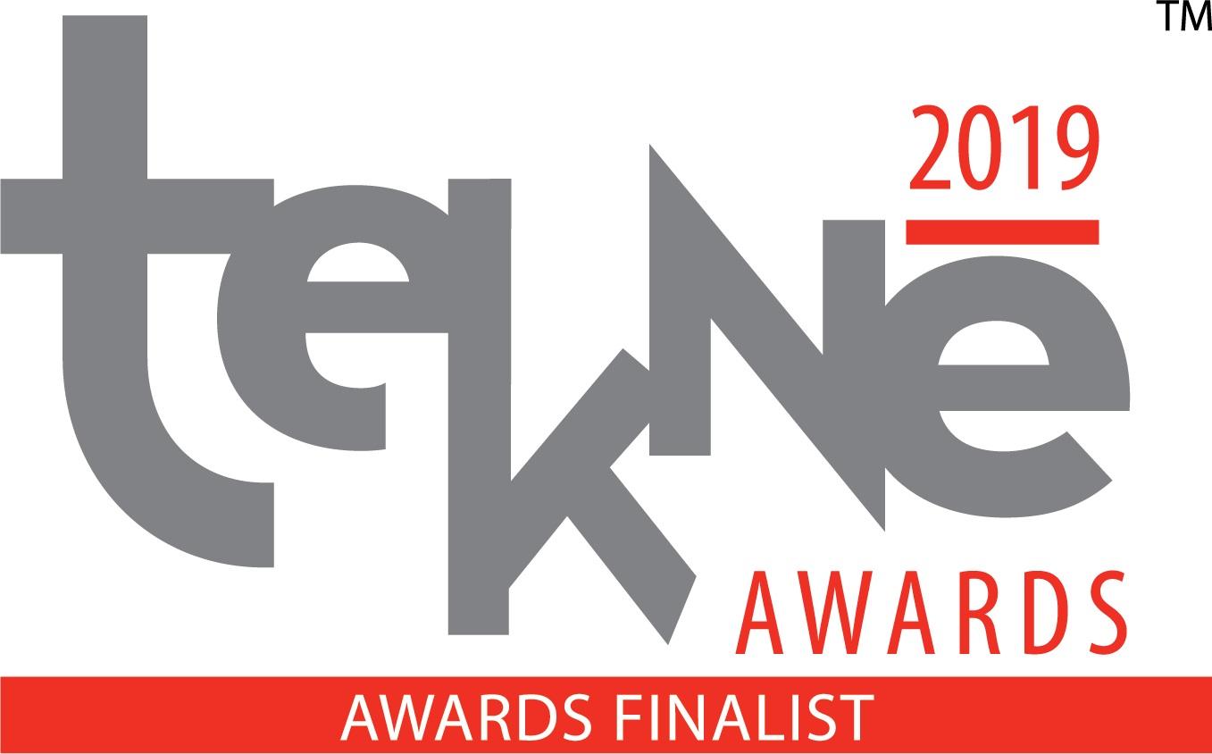 The 2019 Tekne Awards logo.