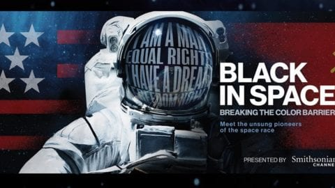 Blacks In Space Screening poster.