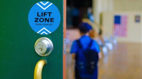 Comcast Lift Zones