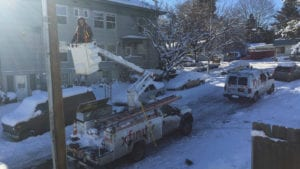 Snow or Shine, We're Working to Keep You Connected