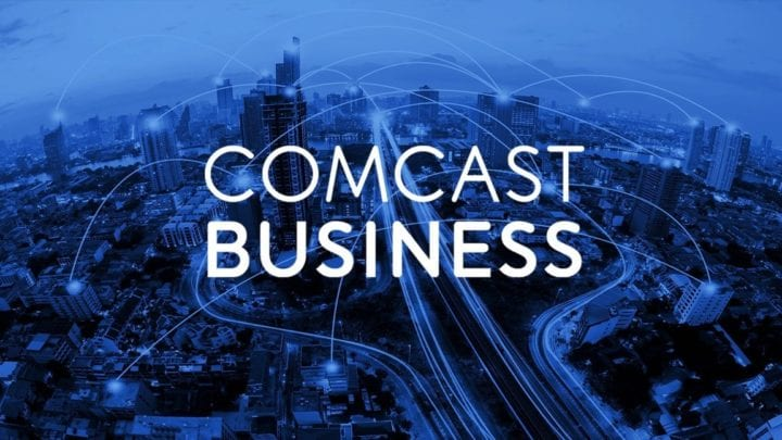 The Comcast Business logo.