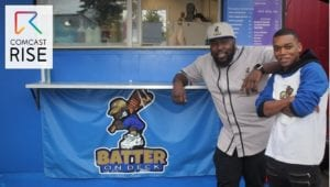 Powered by Ambition: Black-owned Food Cart Batter On Deck is Comcast RISE Recipient