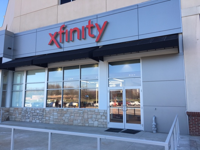 Exterior of the Xfinity Store in Dearborn, MI.