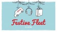 The Festive Fleet logo.