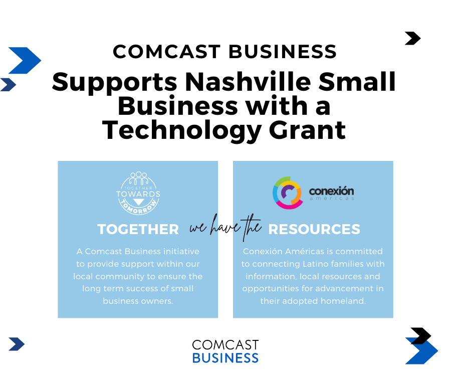 Conexión Américas and Comcast Business to Provide Grant to  Business Impacted by Pandemic