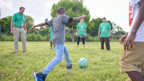 Boys & Girls Club, Comcast Celebrate Inaugural Game on New Sports Field for Local Youth