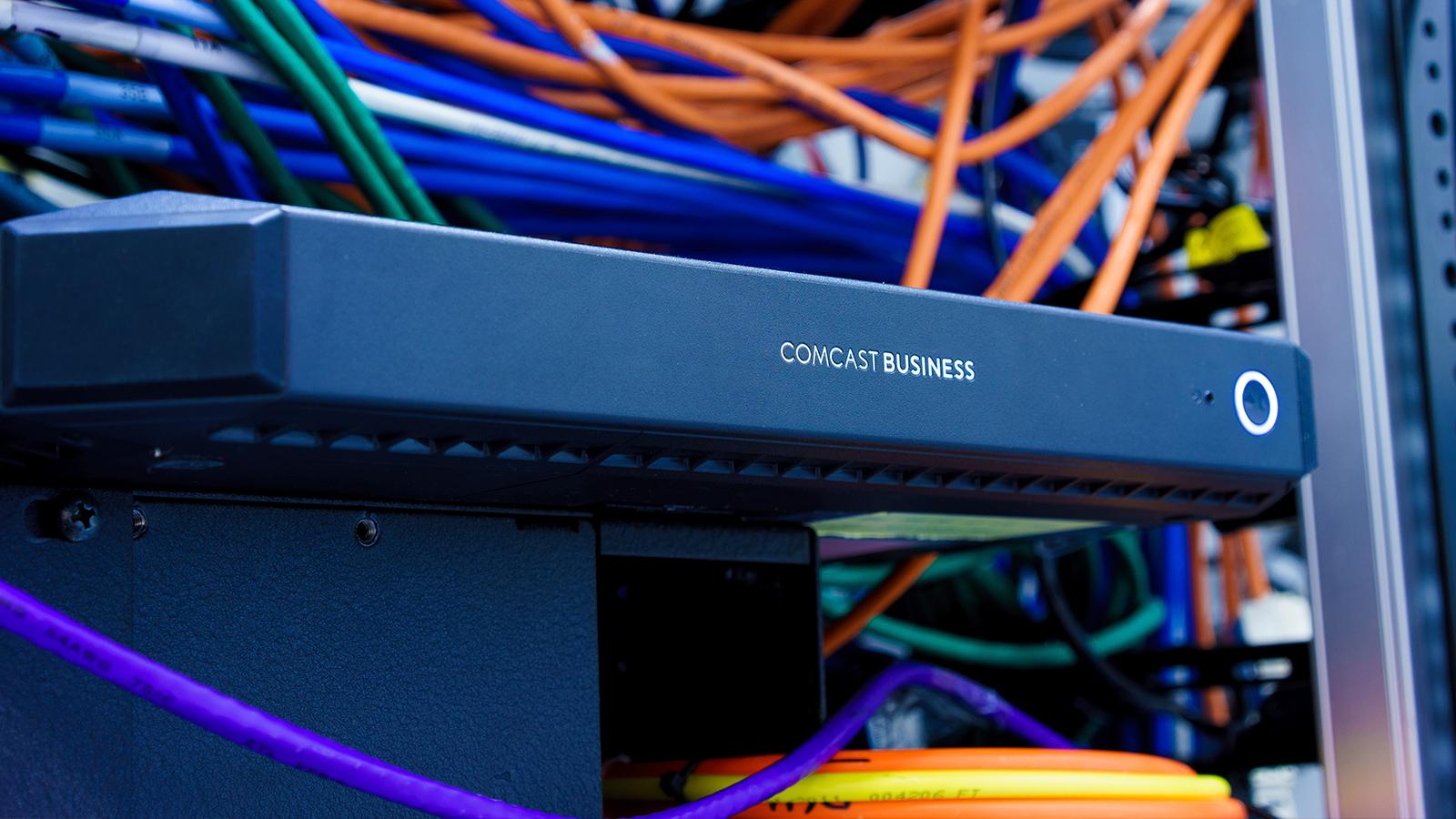 A Comcast Business router.