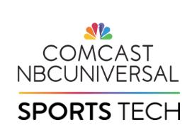 Comcast NBCUniversal SportsTech Logo
