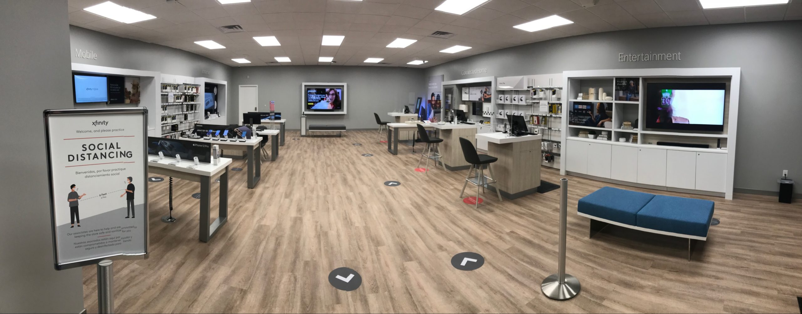Interior of Lebanon Xfinity Store
