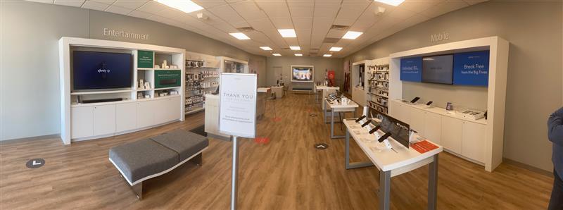 Interior of Hanover Xfinity Store