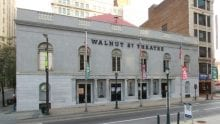 Exterior view of the Walnut Street Theater.