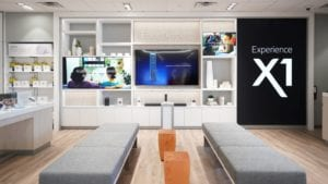 Interior of an Xfinity Store