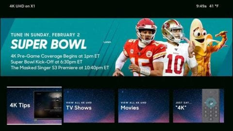 Super Bowl 4K tips