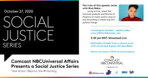 Tune In Here! Social Justice Series: Youth Activism with Brea Baker