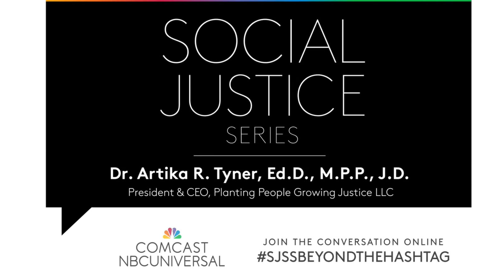 Social Justice Series: School-to-Prison Pipeline with Dr. Artika Tyner