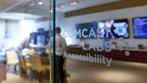 The Comcast Labs Accessibility Lab.