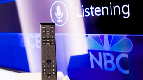 An Xfinity Voice Remote.