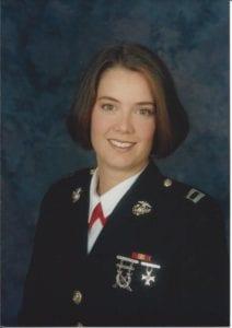 Military photo of Sabrina Spirito